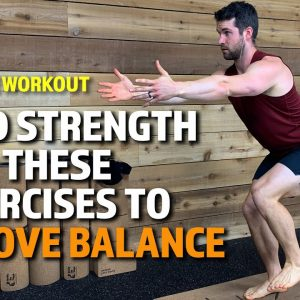 10-MIN BALANCE YOGA | BUILD STRENGTH WITH THESE 5 EXERCISES TO IMPROVE BALANCE | YOGA FOR MEN