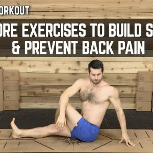 15 Minute Workout | Abs & Core Exercises to Build Strength & Prevent Back Pain