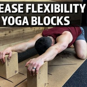 How to Use Yoga Blocks to Increase Your Flexibility in Kneeling Yoga Poses | Beginner Friendly