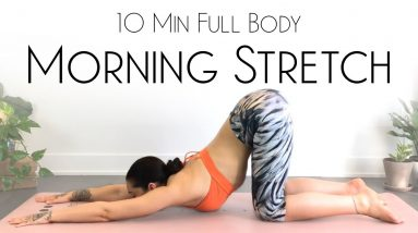 10 Minute Morning Yoga Full Body Stretch - BEST Daily Movement!