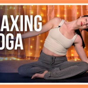 15 min Bedtime Yoga – Day #5 (RELAXING YOGA STRETCHES BEFORE BED)