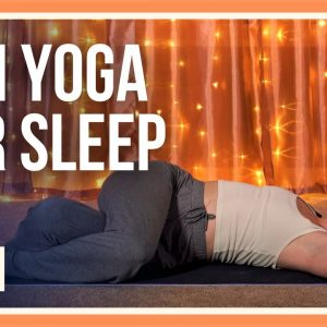 15 min Evening Yin Yoga – Day #18 (YOGA STRETCHES BEFORE BED)