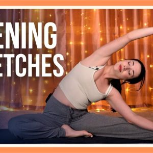 15 min Evening Yoga Class – Day #3 (YOGA STRETCHES BEFORE BED)