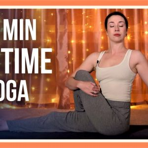 15 min Evening Yoga – Day #1 (YOGA FOR FLEXIBILITY AND RELAXATION)