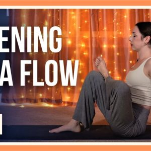 15 min Evening Yoga – Day #21 (YOGA FOR HIPS & LOWER BACK)
