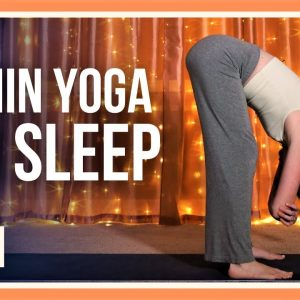 15 min Evening Yoga Flow – Day #15 (BEFORE BED YOGA)