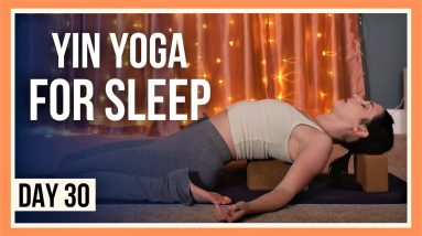 15 min Yin Yoga Stretches – Day #30 (RELAXING YOGA BEFORE BEDTIME)