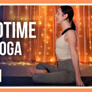 15 min Yoga for Sleep – Day #29 (YOGA STRETCHES BEFORE BED)