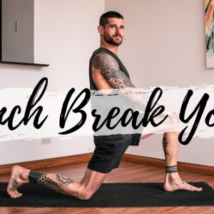 15 Min Yoga for Your Lunch & Office Break | Breathe and Flow Yoga