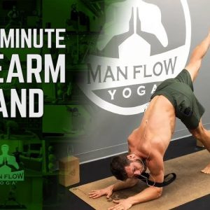 15 Minute Workout | Forearm Stand Tutorial for Beginners | #yogaformen