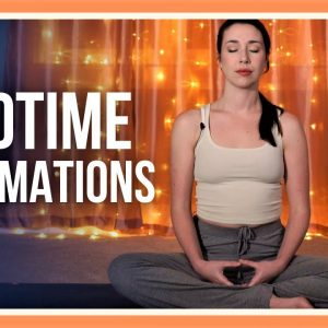 5 min Guided Evening Meditation with Positive Affirmations