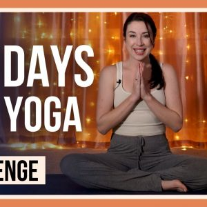 EVENING YOGA CHALLENGE: 15 min of Bedtime Yoga for 30 DAYS! (DAY 0 EVENING YOGA MOVEMENT)