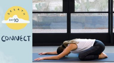 Day 10 - Connect  |  BREATH - A 30 Day Yoga Journey