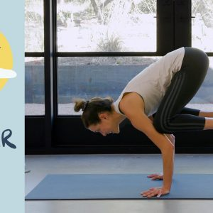 Day 18 - Center  |  BREATH - A 30 Day Yoga Journey