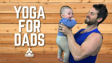 Yoga for Dads | Address Chronic Back Pain, Poor Sleep and Other Baby-Related Discomforts