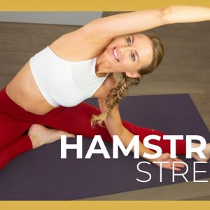 Deep Hamstring Stretches for Beginners | Yoga for Flexibility