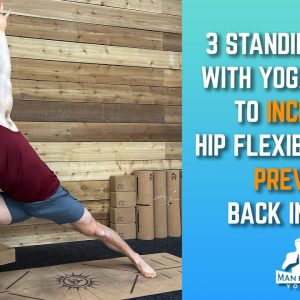 Are You a Yoga Beginner? Do These 3 Standing Yoga Poses With Yoga Blocks to Increase Hip Flexibility