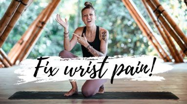 Fix and Prevent Wrist Pain! | Breathe and Flow Yoga