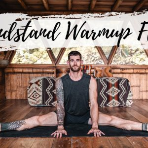 Full Body Vinyasa Handstand Warmup Sequence | Breathe and Flow Yoga