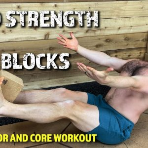 HOW TO BUILD STRENGTH WITH THESE YOGA BLOCK EXERCISES | SUPINE AND CORE WORKOUT | YOGA FOR MEN