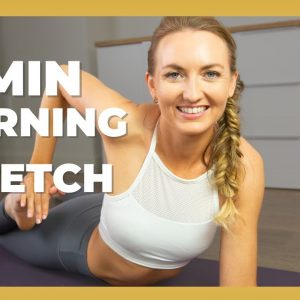 15 Min Energizing Heart Opening Yoga | Morning Yoga With Deep Backbends And Quad Stretches