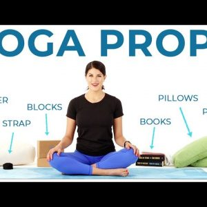 How to use YOGA PROPS (and household items you can use instead)