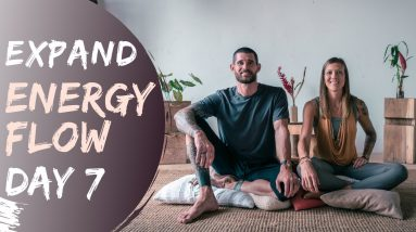 Energy Flow - Guided Meditation | Day 7 EXPAND Breathe and Flow Meditation Program