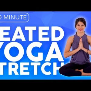 10 min Seated Morning Yoga Stretch for Stiff & Sore Muscles | Sarah Beth Yoga