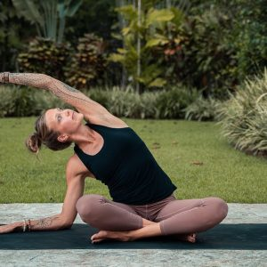 Moon Cycle Yoga to Reduce Cramps and Back Pain | Breathe and Flow