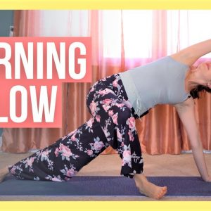 Morning Yoga for Tight & Sore Muscles - DEEP STRETCH