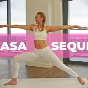 15 Min Morning Vinyasa Sequence | Deep Stretches For The Entire Body (For Beginners)