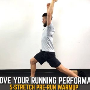 5-Stretch Running Warm-up | Do These Pre-Run Stretches Before Every Run to Improve Your Performance!