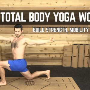 15-Minute Beginner's Yoga for Men Total Body Workout | Build Strength, Mobility & Flexibility