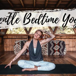 Simple Stretches Before Bed | Bedtime Breathe and Flow Yoga