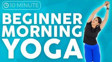 Yoga for Beginners MORNING   Simple Yoga Stretches to Wake Up