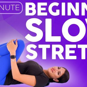 Yoga for Beginners NIGHT TIME | Slow Stretches for Sore Muscles