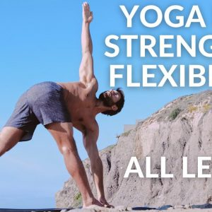 Yoga Routine For Strength and Flexibility All Levels | Yoga With Tim