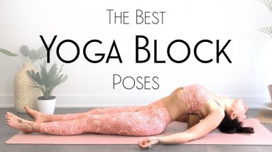 Best Ways to Use a Yoga Block - Restorative Yoga Block Poses for Anxiety & Stress
