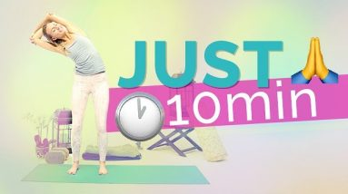 Quick & Easy 10 Minute Morning Yoga Sequence w/ Fightmaster Yoga | Yoga On-The-Go (10-Min)