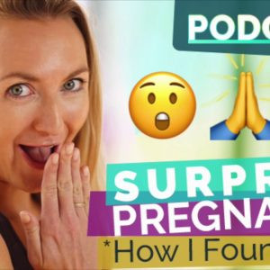 Ep 51 - Surprise Pregnancy: How I found out! | Yoga Hacks Podcast by Brett Larkin