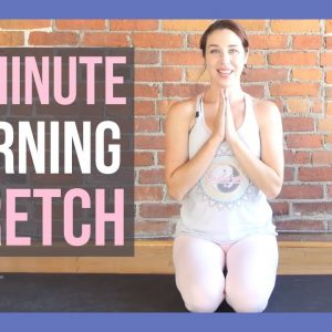 10 min Morning Yoga Stretch to Wake Up - ALL LEVELS NO PROPS
