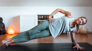 10 Minute Bodyweight Workout | Breathe and Flow