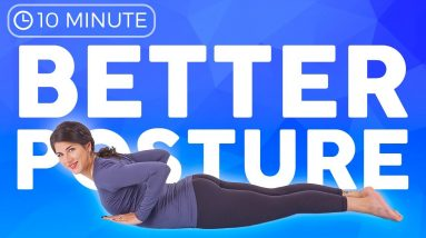 10 minute Yoga for Better Posture | Daily Yoga Stretch