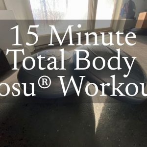 15 Min Total Body Workout with Bosu® Pods and Helm