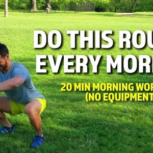 20 Min Morning Workout (No Equipment) | Do This Routine Every Morning 2021