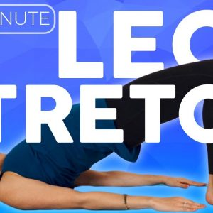 20 minute Bedtime Yoga Stretch IN BED for Legs & Hips | Sarah Beth Yoga