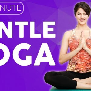 20 minute Gentle Yoga Stretches for Sickness, Cold & Flu | Sarah Beth Yoga