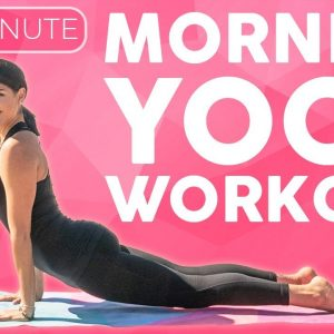 20 minute Power Morning Yoga Workout to Start Your Day | Sarah Beth Yoga