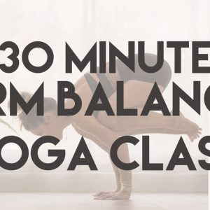 30 Min Baby Grasshopper and Crow Pose Jumpback Yoga Class