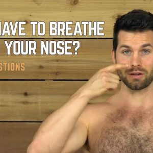 Do You Have to Breathe Through Your Nose in Yoga? | Yoga Breathing Techniques | #yogaformen